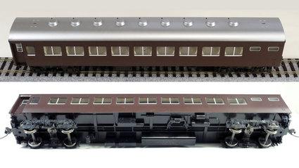 【TOMIX HO】10系客車オハネ17ナハネフ10