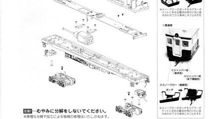 【天賞堂】キハ11旧標準色キハ17系気動車