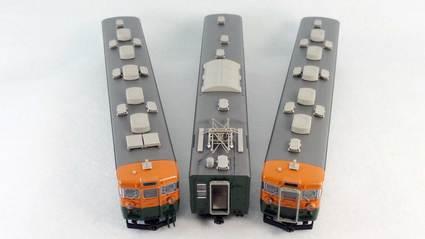 KATO 165系 低屋根 3両セット