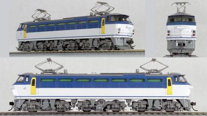 【TOMIX】HO-117 EF66形電気機関車 JR貨物更新車