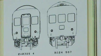 IMON 24系25形北斗星客車 オハネフ25 カニ24