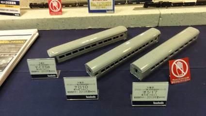 天賞堂 44系客車 青大将はと用 マイテ58、ナロ10、オシ17無塗装ボディサンプル