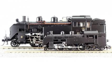 【天賞堂】プラC11形蒸気機関車レビュー 外観編【HO】