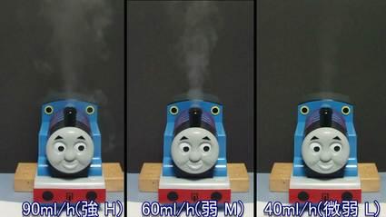 【Thomas】加湿器加湿量比較
