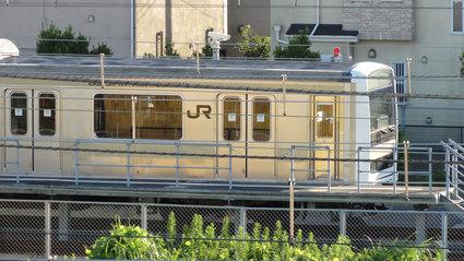 久里浜駅訓練車